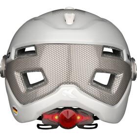 KED B-Vis Helmet Pearl Silver